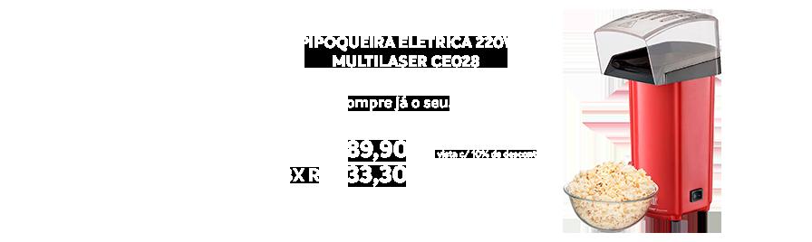 Pipoqueira Eletrica 220v Multilaser Ce028 - https://www.multimidia.inf.br/produto/pipoqueira_eletrica_220v_multilaser_ce028/16068