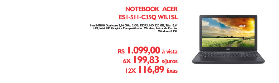 Notebook Acer - https://www.multimidia.inf.br/produto/notebook_acer_es1-511-c35q_w81sl/13175