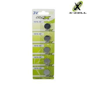 Bateria de Lithium 3v Cr1616 X-cell