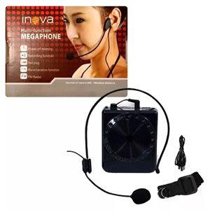 Microfone Megaphone Portatil c/ Fm/usb H8-9v K-150