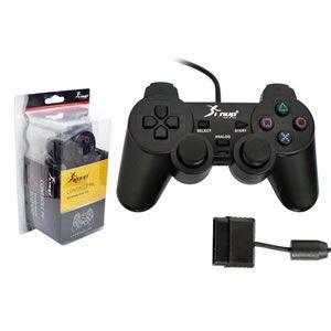 Joystick Play 2  c/ Fio Dualshock Knup Ns-2121