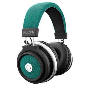 Fone C/microfone Bluetooth Large Pulse Verde Ph231