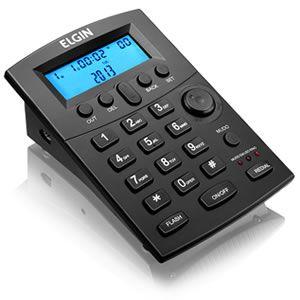Telefone  Headset c/  Identificador Elgin Hst-8000