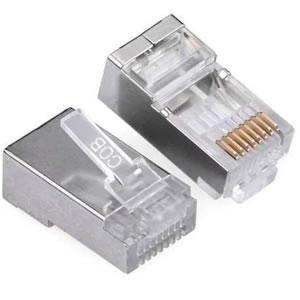 Conector  Rj45 8vias 8p8c Macho Cat6