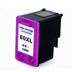 Cartucho   hp Compativel  60xl Color Microjet