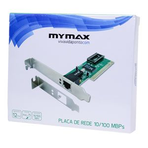 Rede 10/100  Mymax Pci