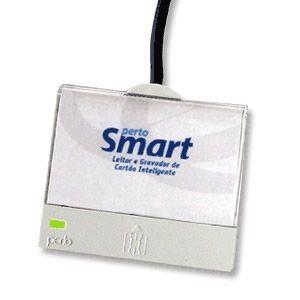 Leitor de Cartao Usb p/ Smartcard Pertosmart