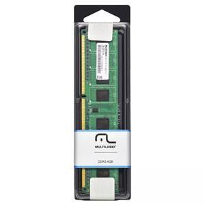 Memoria  4gb Ddr3 Pc-1600 Multilaser Mm410