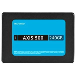 Ssd 240gb Sata 3 2,5 Axis 500 Multilaser Ss200