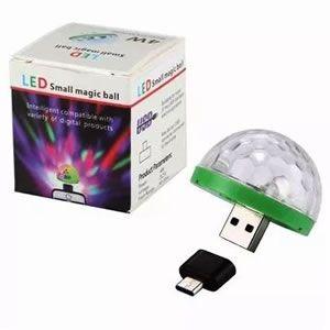 Mini Bola Mágica de Led Inova Lam-8180