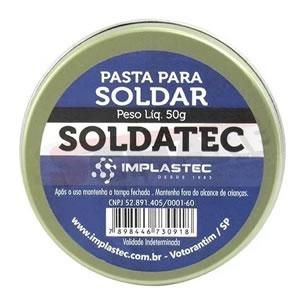 Pasta Para Soldar Soldatec 50gr Implastec