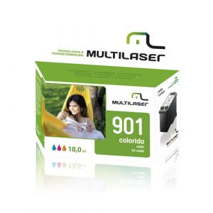 Cartucho  hp Multilaser Co181 Color