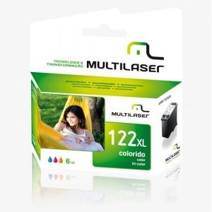 Cartucho  hp Multilaser Co339 Color