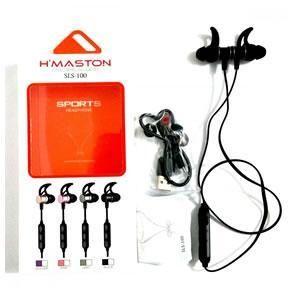 Fone C/microfone Bluetooth Hmaston Sls-100 Preto