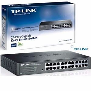 Switch 24 Portas Gigabit Tp-link Tl-sg1024d
