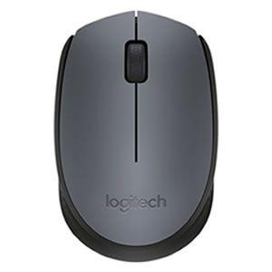Mouse Logitech Wireless M170 Prata