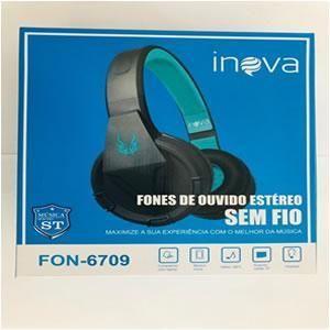 Fone C/microfone Bluetooth Inova Fon-6708/6709