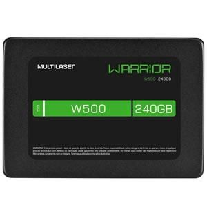 Ssd 240gb Sata Iii 2,5 Gamer Warrior W500 Ss210