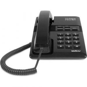 Telefone  C/fio Intelbras tc 50 Premium Preto