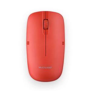 Mouse Multilaser Wireless Mo289 Vermelho