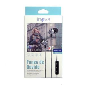 Fone C/microfone Inova Fon-7249/7250