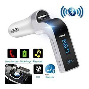 Transmissor Bluetooth Veicular Car Charger 7