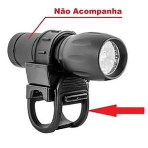 Suporte P/lanterna P/bike Emborrachado