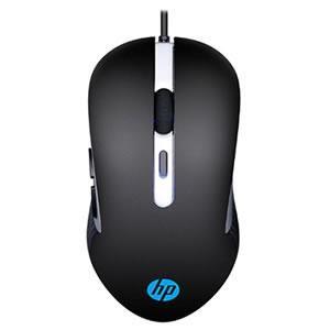 Mouse Gamer hp G210 2400 Dpi Led Preto