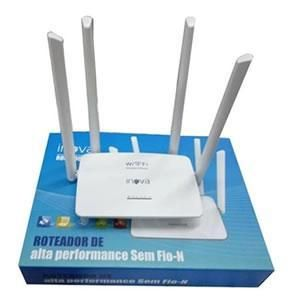 Wireless 300 Mbps  Roteador Inova Rou-6011