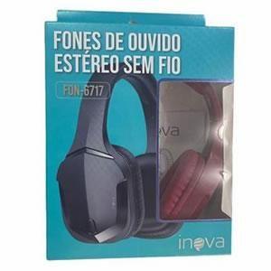 Fone C/microfone Bluetooth Inova Fon-6717