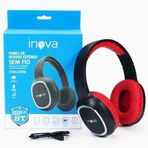 Fone C/microfone Bluetooth Inova Fon-6702