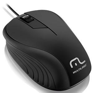 Mouse Multilaser Mo222 Preto