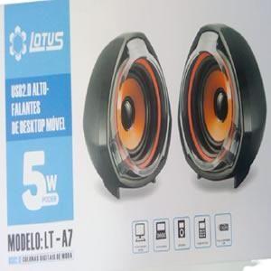 Caixas de Som Lotus 5w Lt-a7