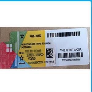 Licença Windows 10 Home Refurbisher 32/64