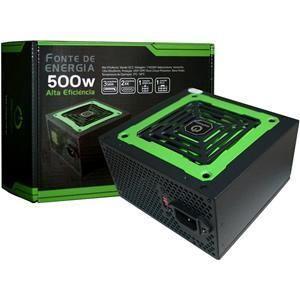 Fonte Chaveada Atx  500w Reais Onepower Mp500w3-i