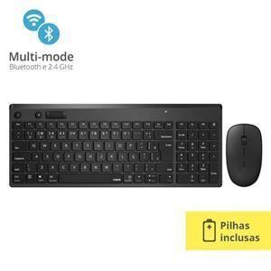 Conj. Tecl Mouse  Wi-fi   bt Rapoo 8050t Ra003