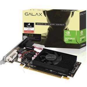 Vga 1gb Gt210 Ddr3 Nvidia Galax