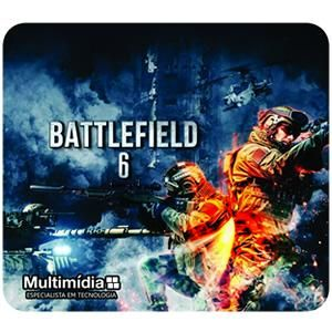 Mouse Pad Gamer Multimidia Battlefield 6