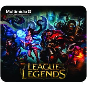 Mouse Pad Gamer Multimidia League of Legends