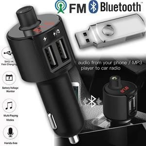 Transmissor Bluetooth Veicular Multifunction Car
