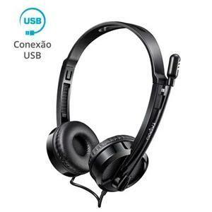 Fone  C/microfone Rapoo H120 Ra020 Preto