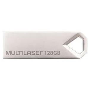 Pendrive128gb  Multilaser Diamond Metalico Pd853