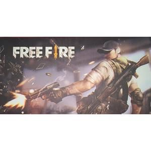 Mouse Pad Gamer 65cm x 32cm x 0,7mm Free Fire