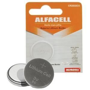 Bateria de Lithium 3v Cr2032 Alfacell