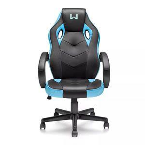 Cadeira Gamer Multilaser Warrior Azul Ga161