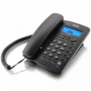 Telefone Elgin Tcf-3000 Preto