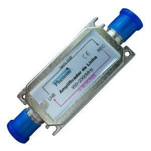 Amplificador de Linha Satelite 20db Phenon