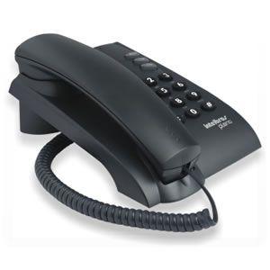 Telefone  C/fio Intelbras Pleno Preto