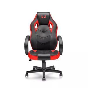Cadeira Gamer Multilaser Warrior Vermelho Ga162