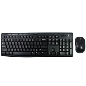 Conj. Tecl Mouse Wi-fi Logitech Mk270 Preto